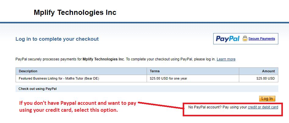 Paypal Mark